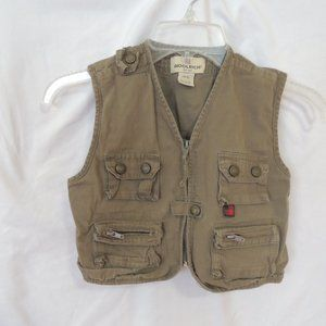 Woolrich boys tach vest size 5/6